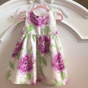 Baby Gap floral print dress